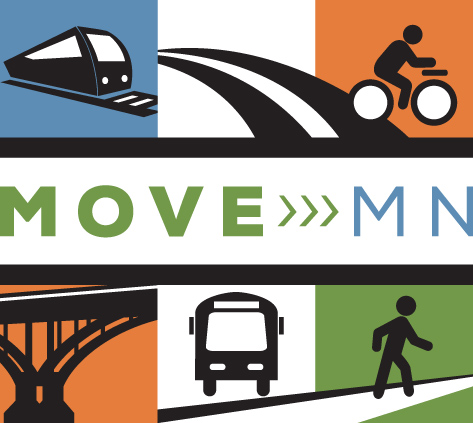 Move-MN-logo-features-bus-train-bicyclist-pedestrian-road-and-bridge