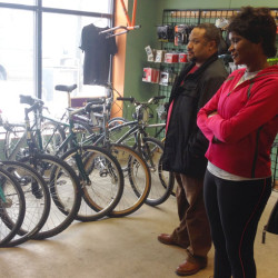Transportation Options Workshop-stop at Cycles for Change Community Bike-Shop