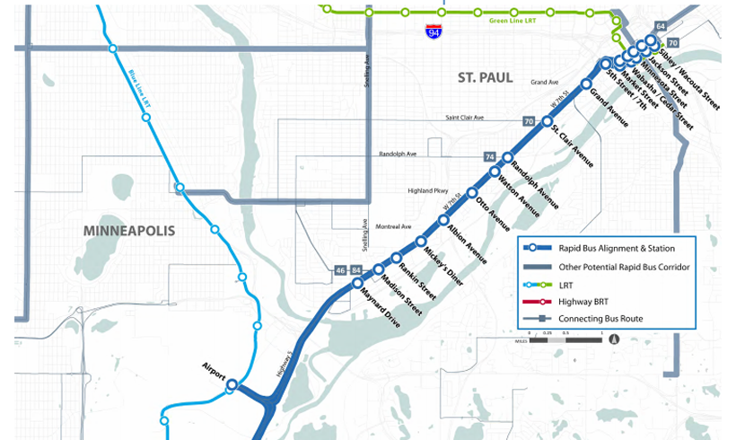 Six Local Transit Projects Competing for Federal Funding