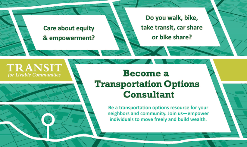Transportation Options Call for Volunteers