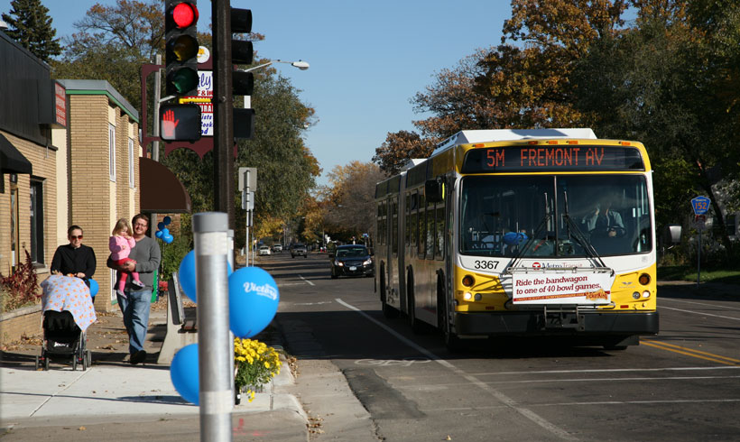 Metro Transit Plans For A Better Bus System Support And Funding Needed