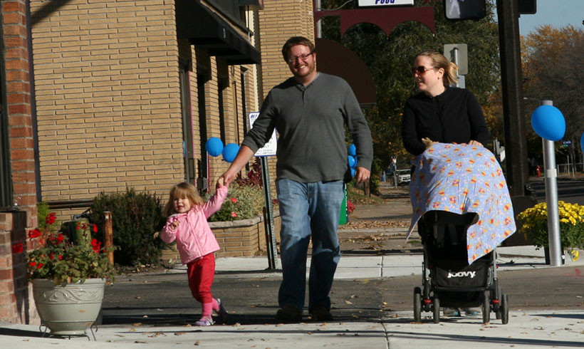 Victory Neighborhood Celebrates Long-Awaited Pedestrian Improvements