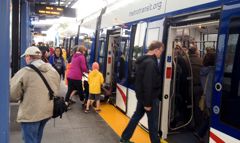 Twin Cities Region Sees Dramatic Increase in Transit Ridership