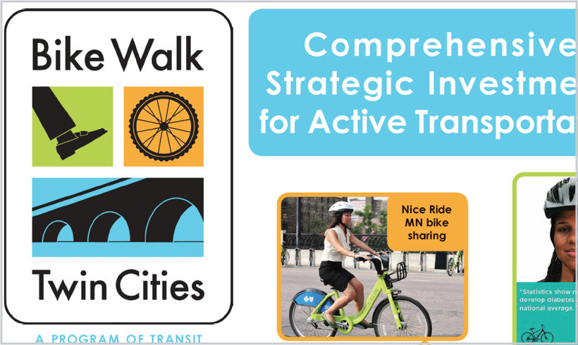 Comprehensive, Strategic Investments for Active Transportation