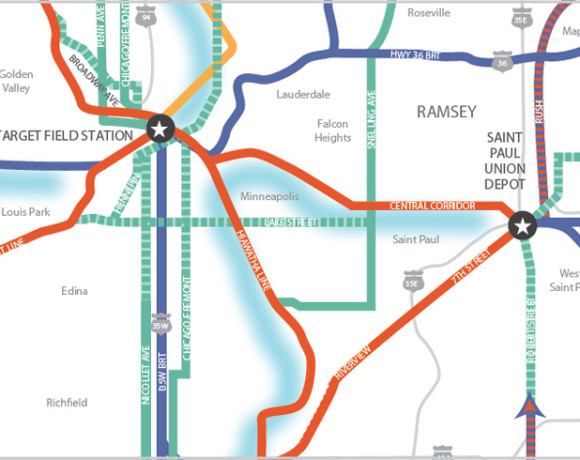 Twin Cities Regional Transit Plan