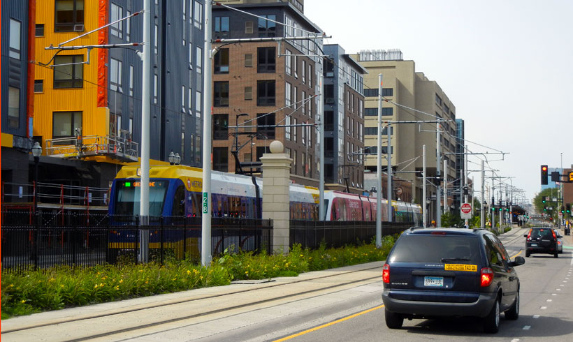 Minneapolis Considers Parking Reform for Transit-Oriented Developments